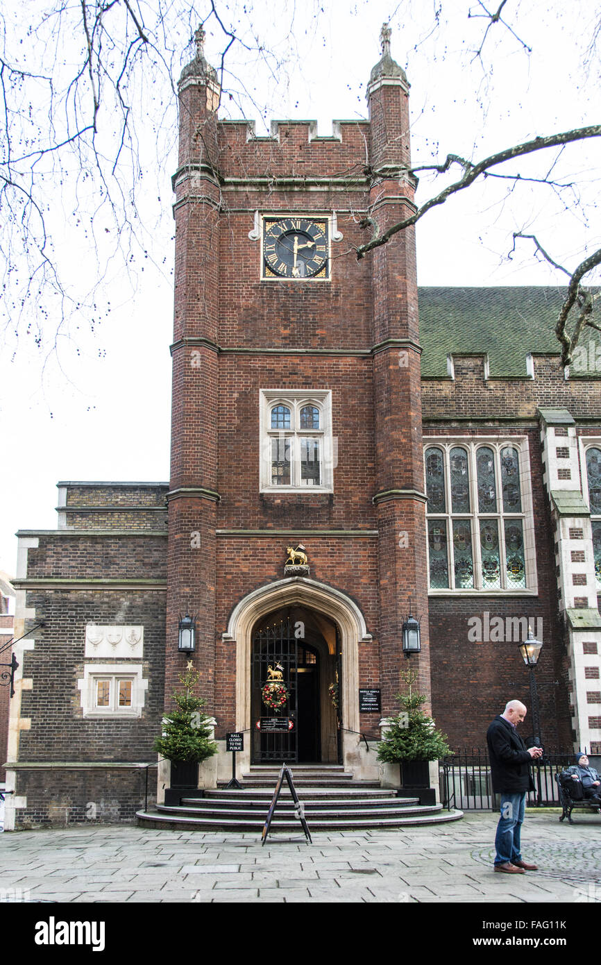 Middle Temple Hall, Inns of Court, London, UK, - Stock Image