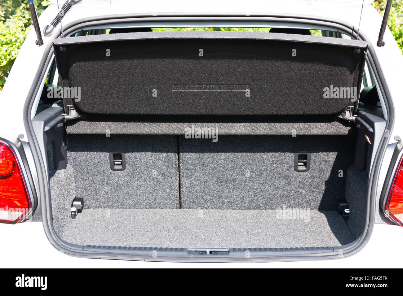 A new Volkswagen Polo 2014 Trunk - Stock Image