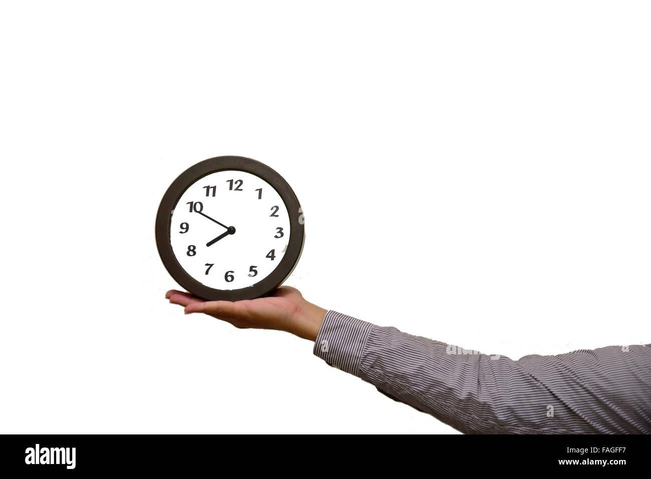 Time, lasting, waiting, travel, life - Stock Image