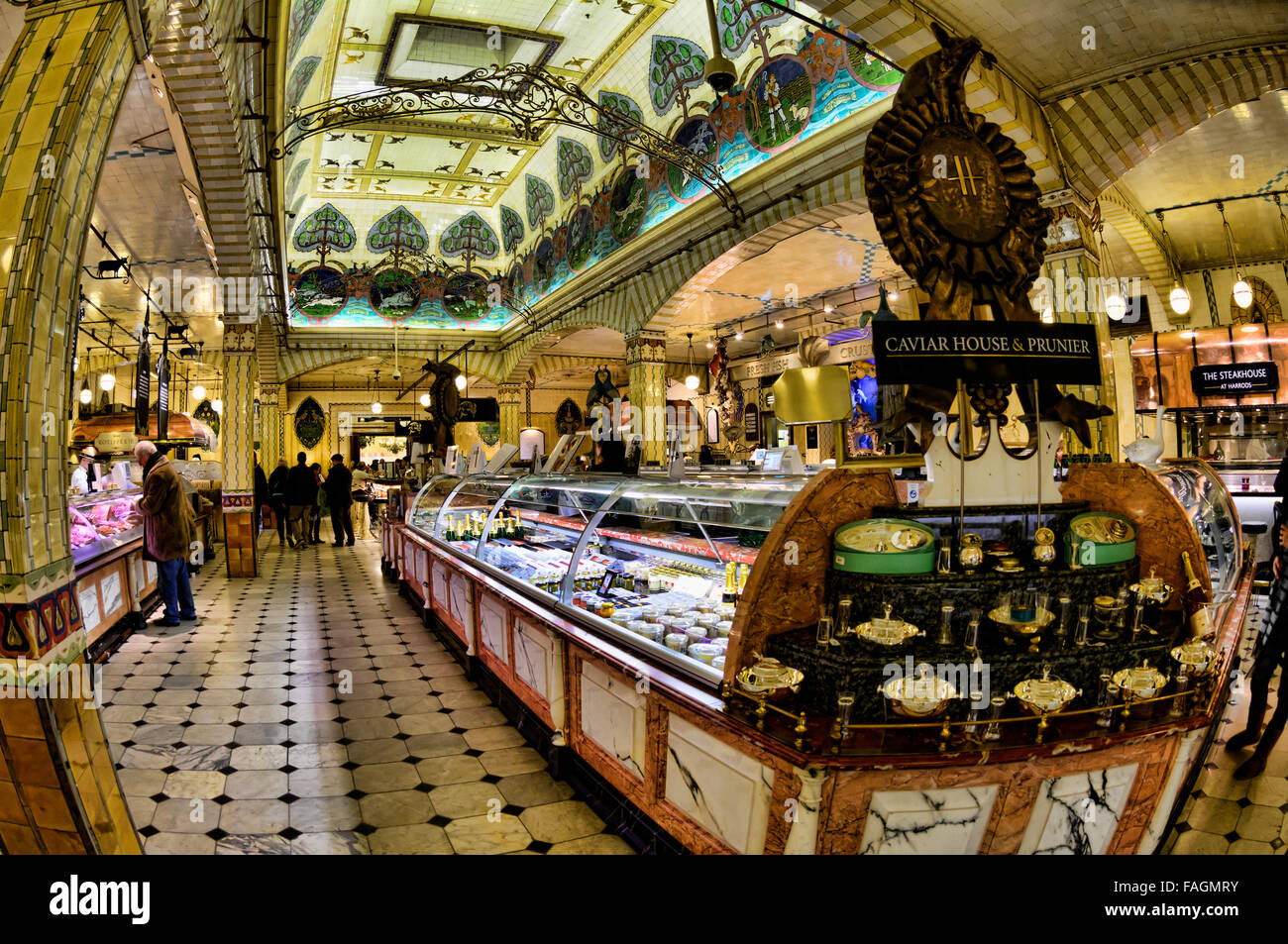 London Food Department Stores