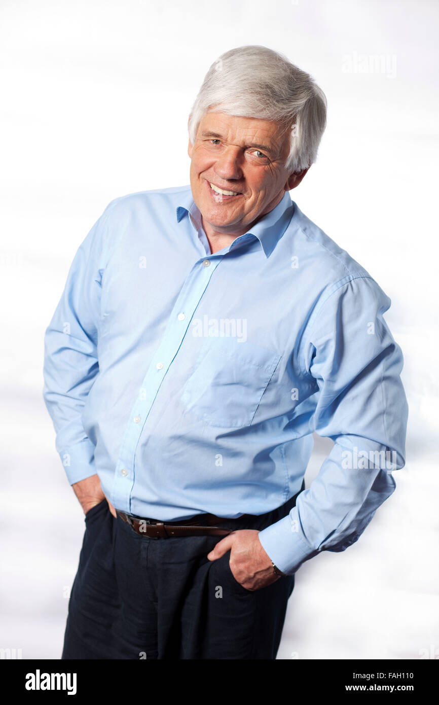 Peter Allen ,  an award-winning English radio broadcaster - Stock Image
