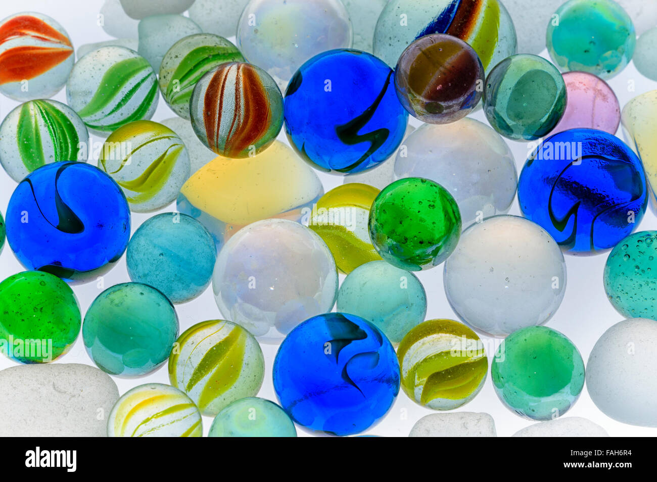 marbles - Stock Image