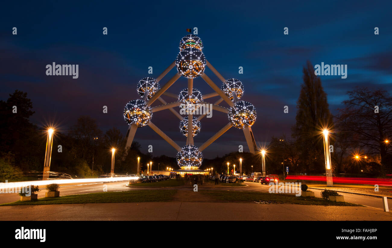 The Atomium - Stock Image