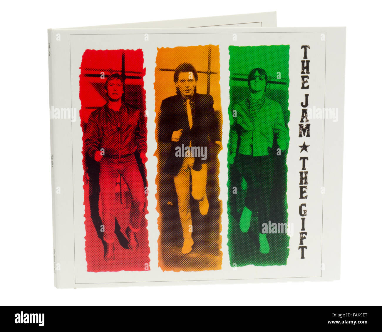 The Jam, The Gift , Sixth and Final Album Released March 1982 Stock Photo