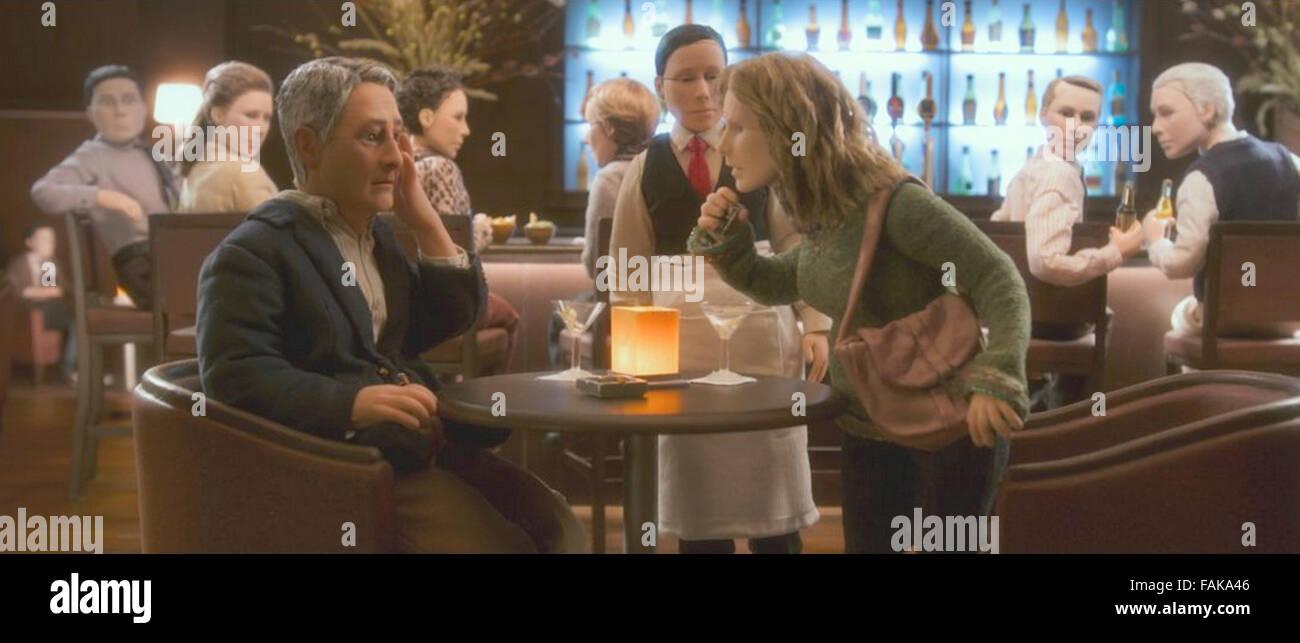 ANOMALISA  2015 Paramount Pictures animation - Stock Image