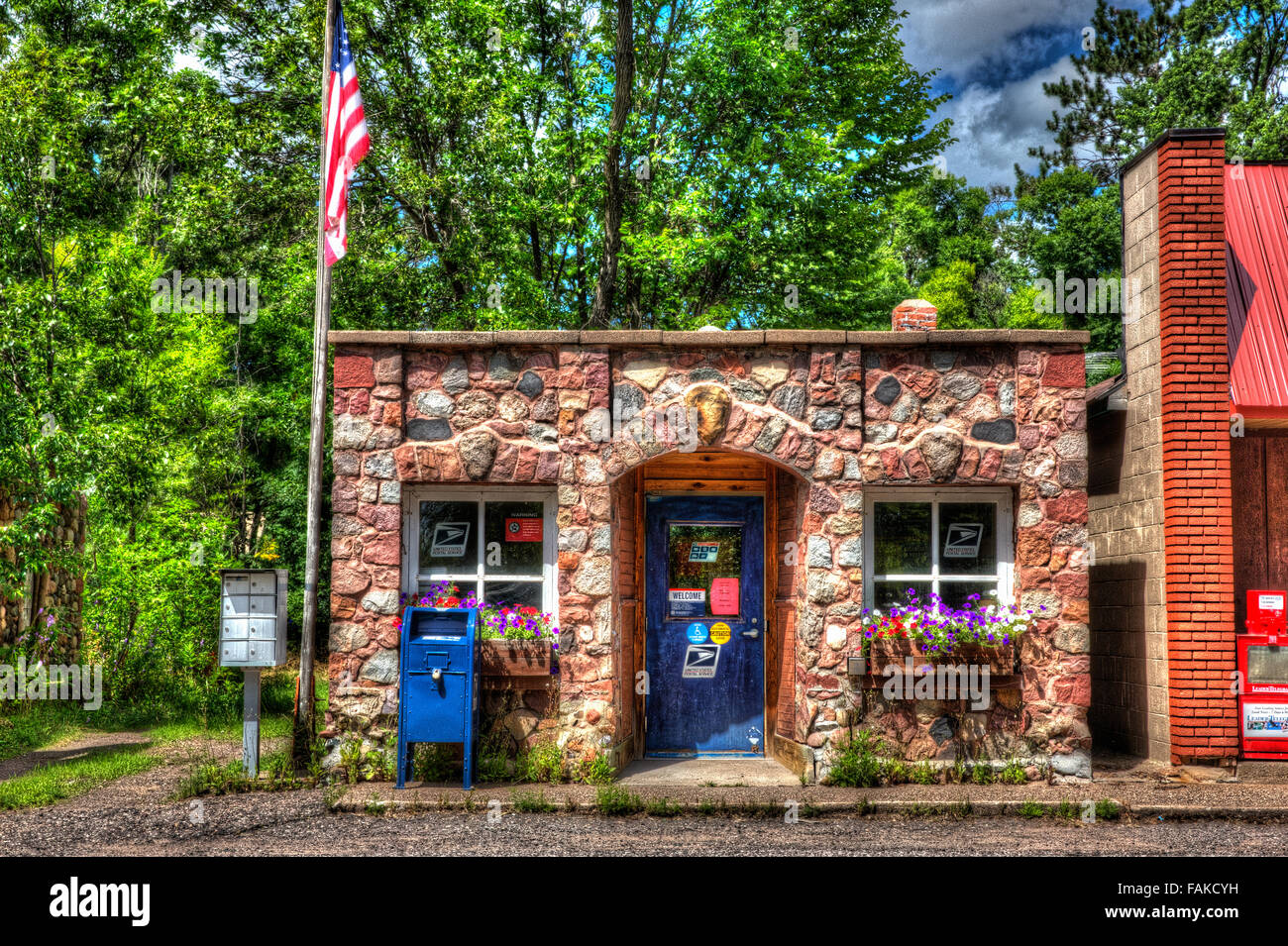 United States Post Office Mailbox Stock Photos & United States Post ...