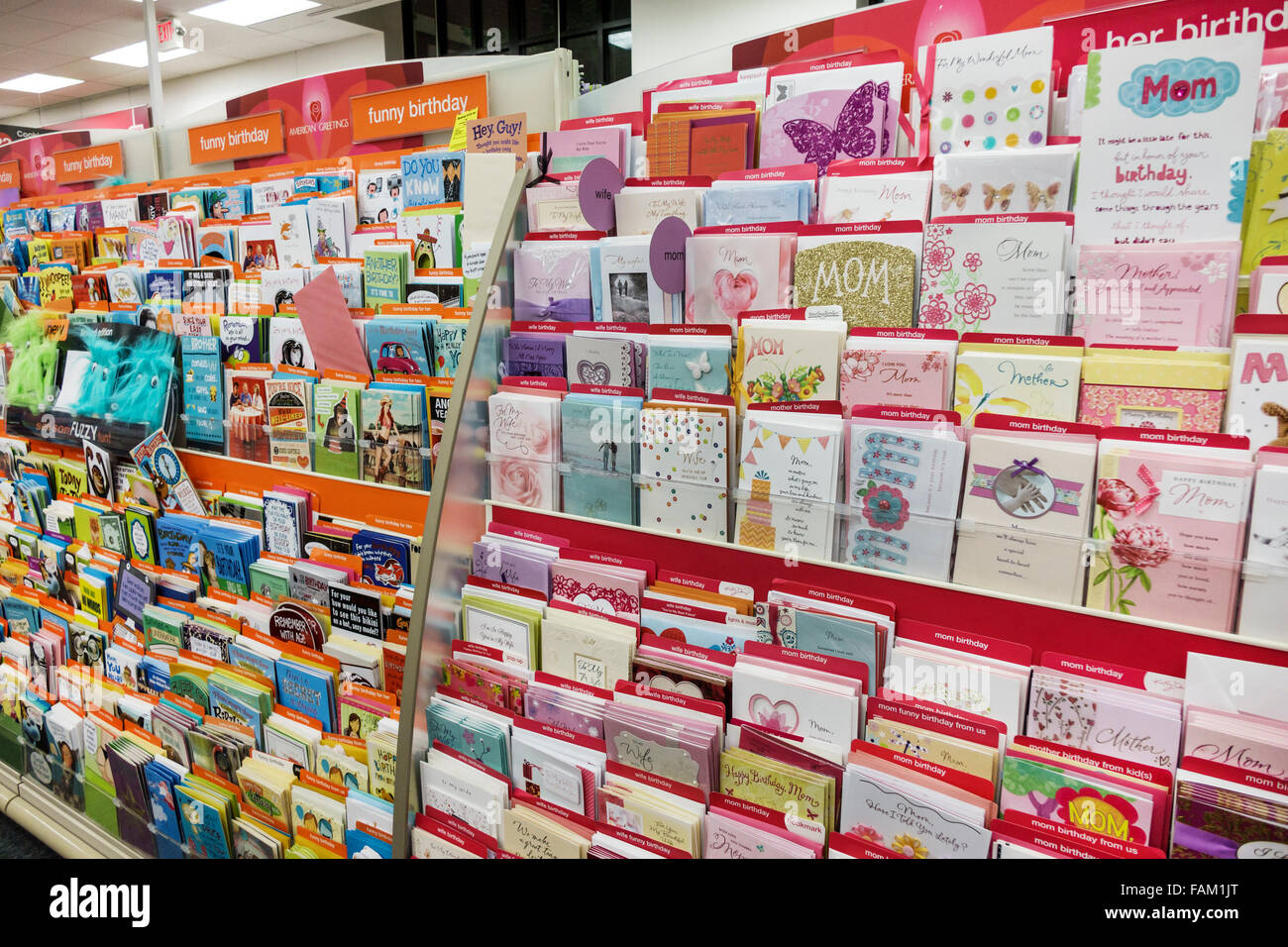 Gainesville Florida CVS Pharmacy Drugstore Inside Sale Display Greeting Cards