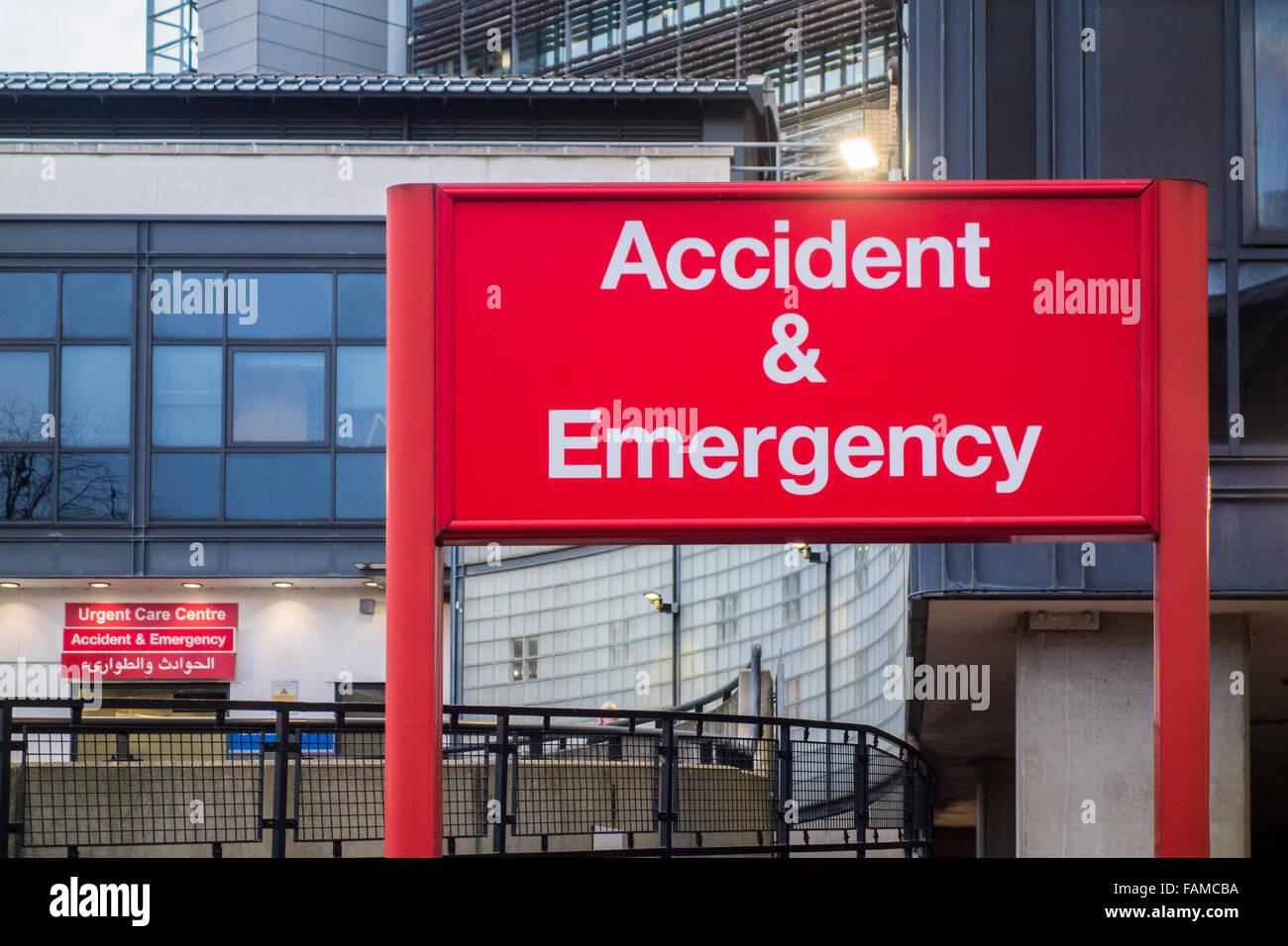 St Hospital Accident Emergency Department Stock Photos & St Hospital ...