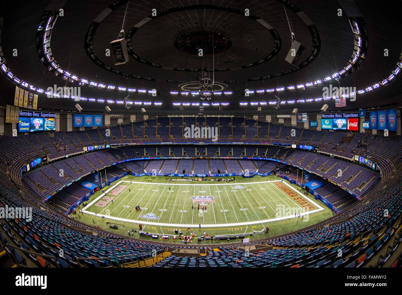 Allstate My Account >> A wide angle view of the stadium during the Allstate Sugar ...
