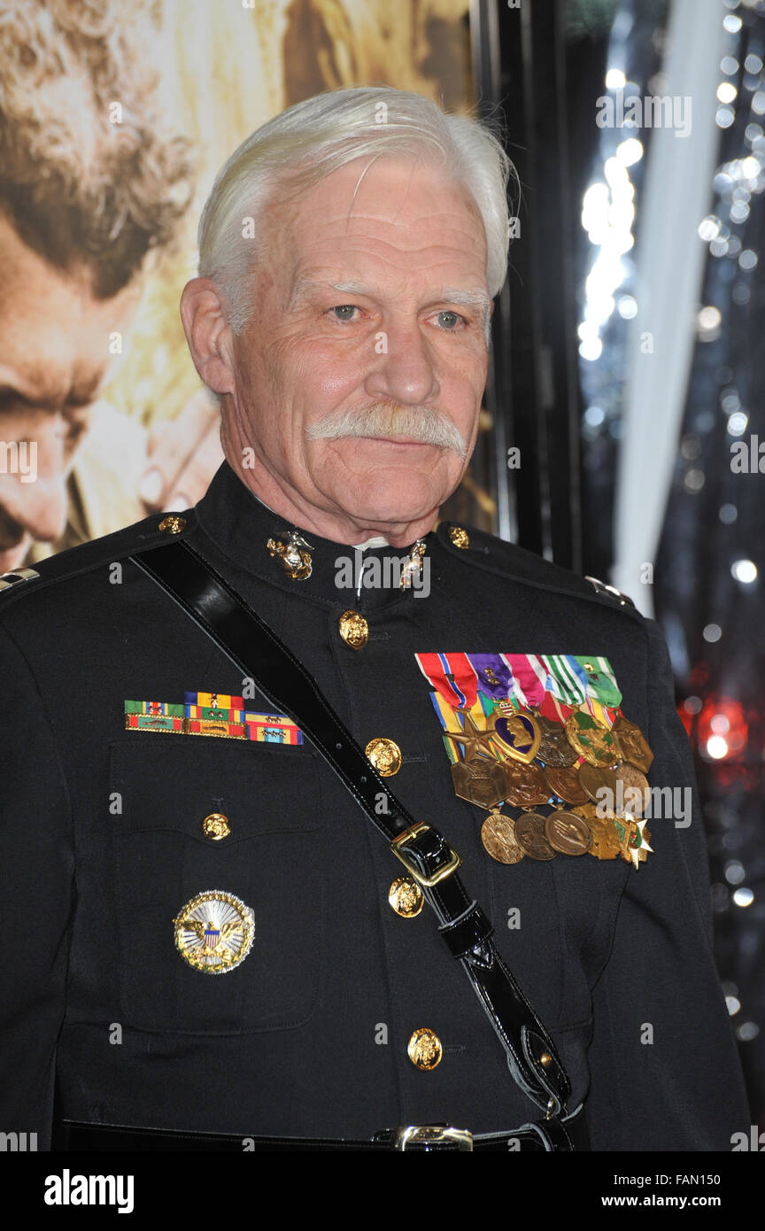 Los Angeles Ca February 24 2010 Captain Dale Dye At