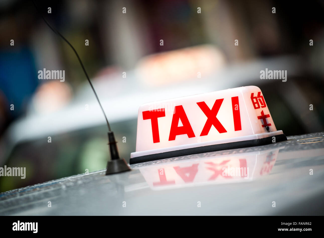 Red Taxi Stock Photos & Red Taxi Stock Images