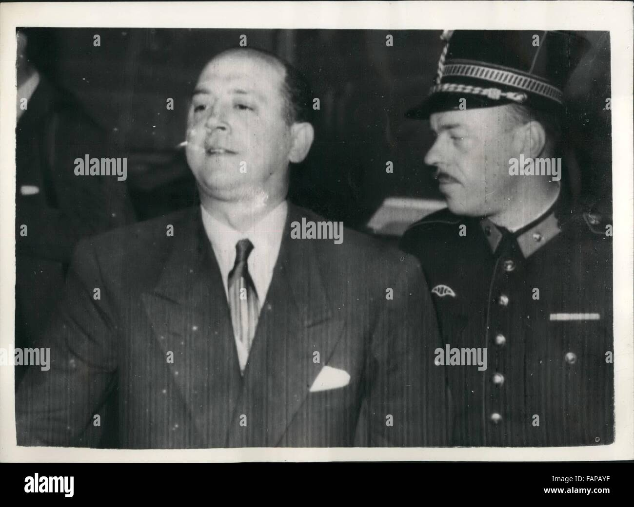 1962 - Messina Brothers on Trial in Belgium. ''Engaged in White Slavery'' - say Police: The trial opened at Tournai, Stock Photo