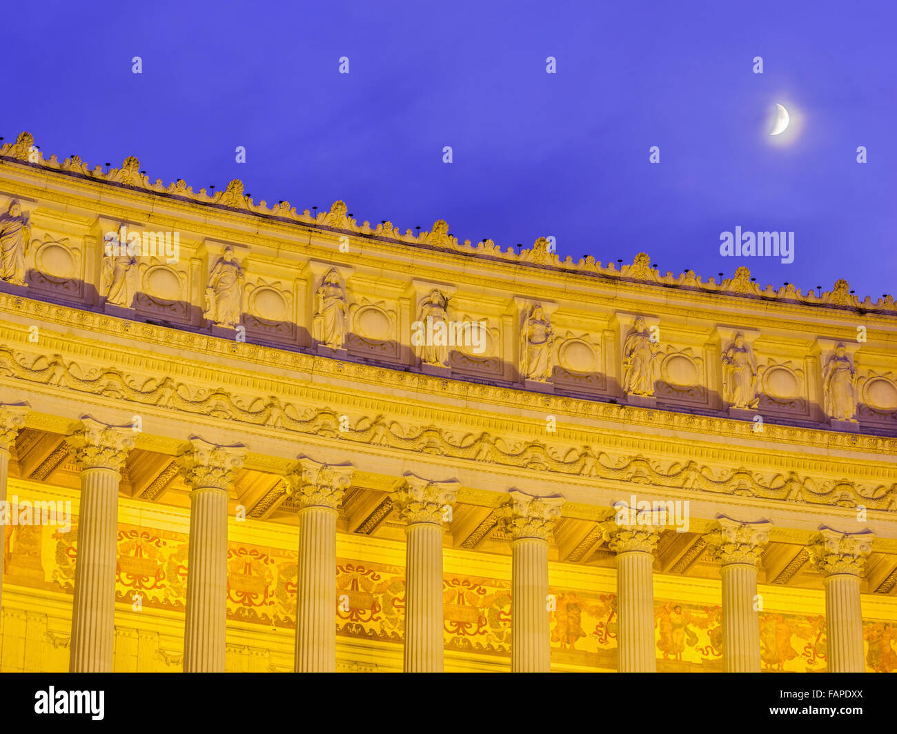 Altar of the Fatherland in Rome, Italy Stock Photo