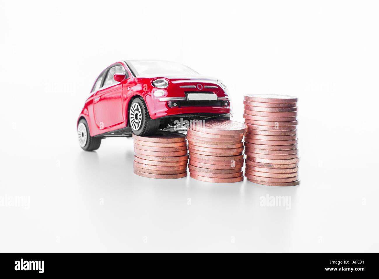 Car insurance. - Stock Image