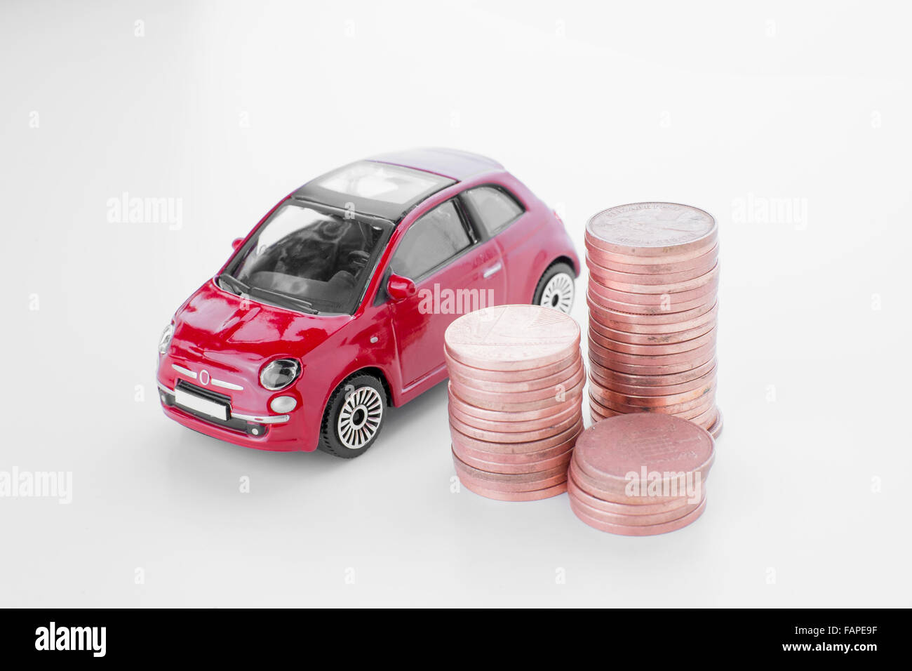 Car insurance. - Stock Image