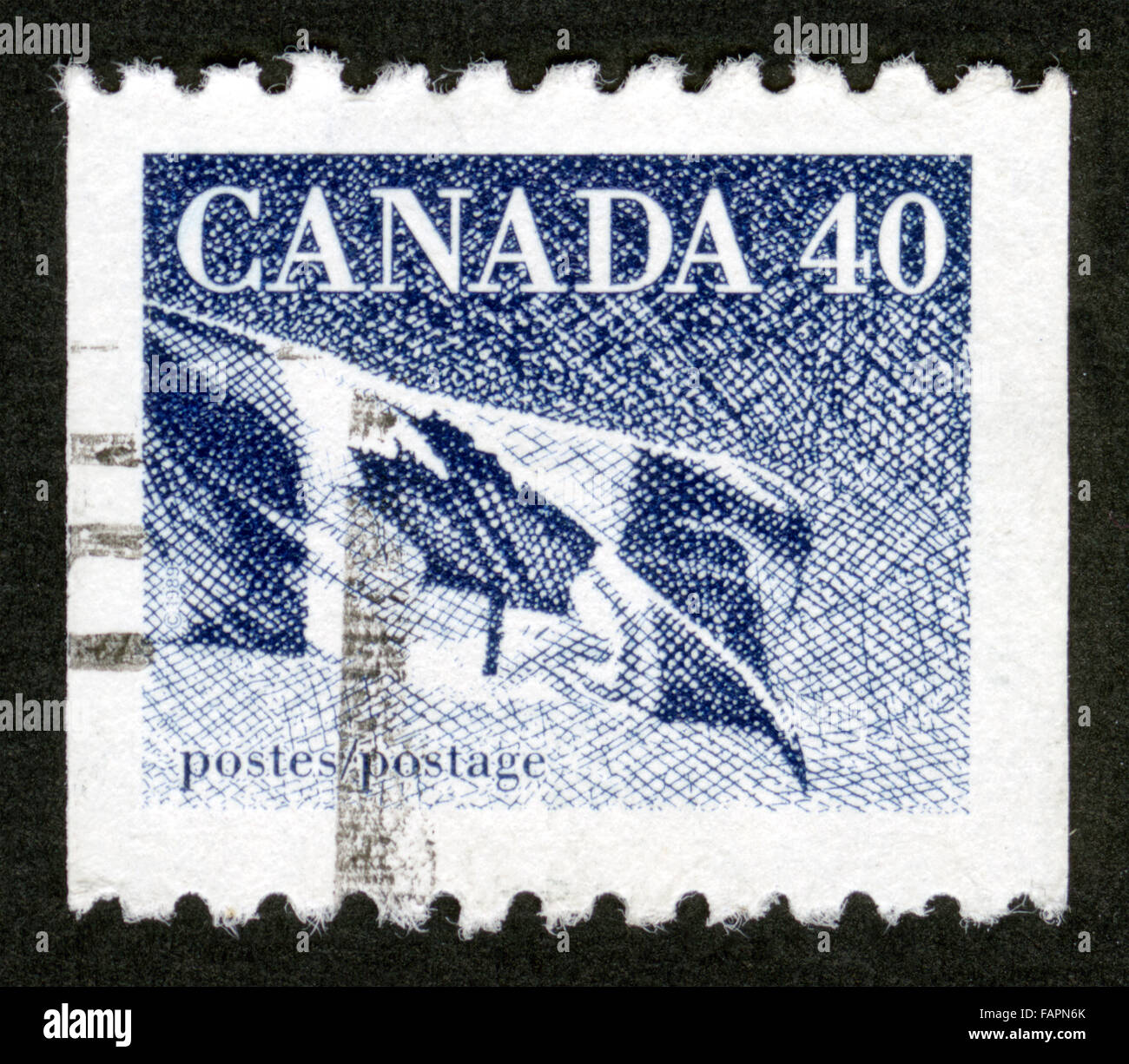 Canadian Post Stamps Stock Photos & Canadian Post Stamps