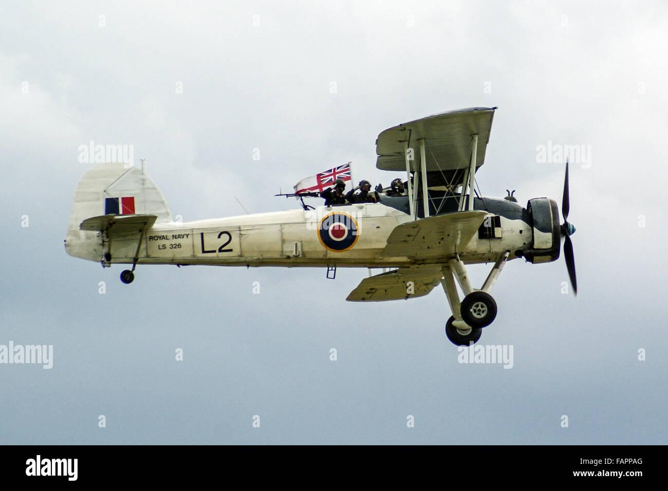 Fairey Swordfish in flight - Stock Image