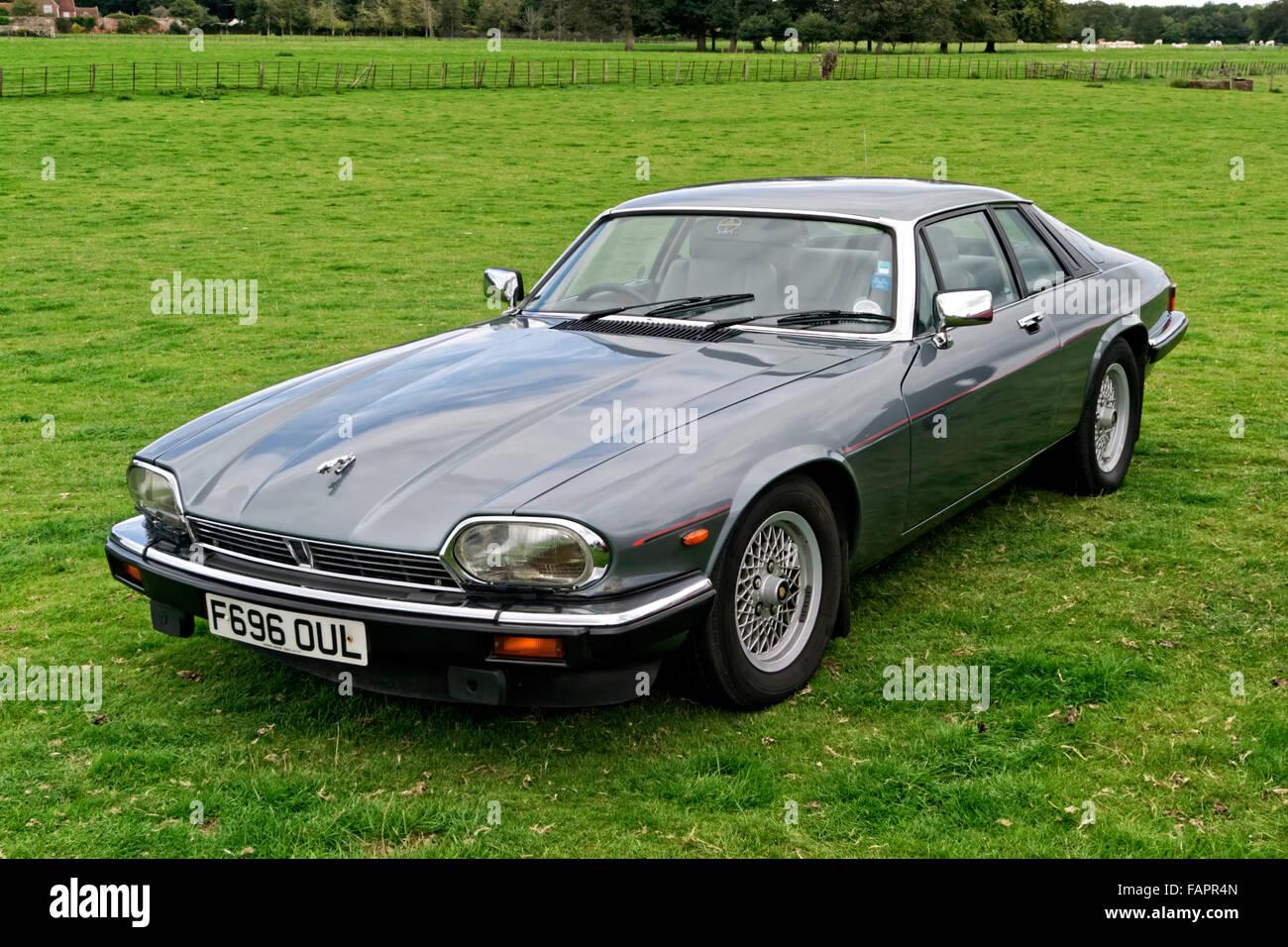A Jaguar XJS 3.6 Litre Luxury Grand Tourer 2 Door Coupe At The Breamore  House