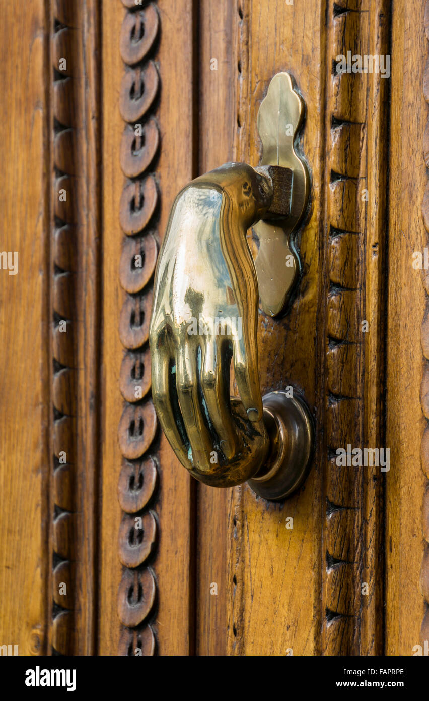 Door Knocker - Stock Image