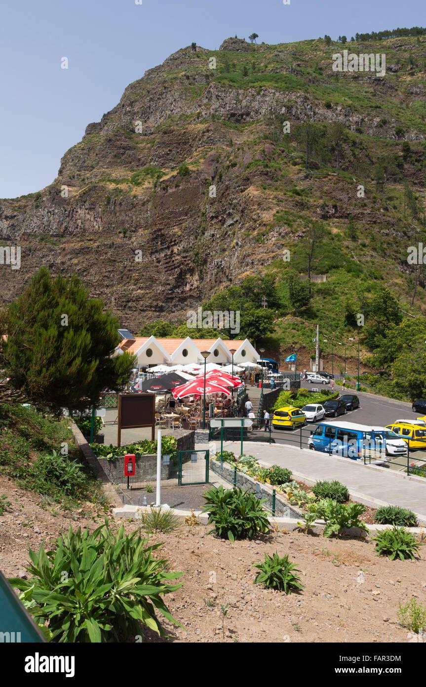 Madeira - Eira do Serrado, overlooking Val des Freiras. - Stock Image