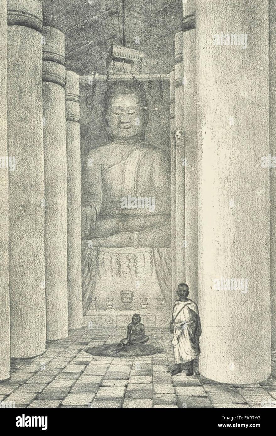 Le Bouddha de Dix-Huit Coudees - The Buddha of eighteen cubits - 1880 - Stock Image