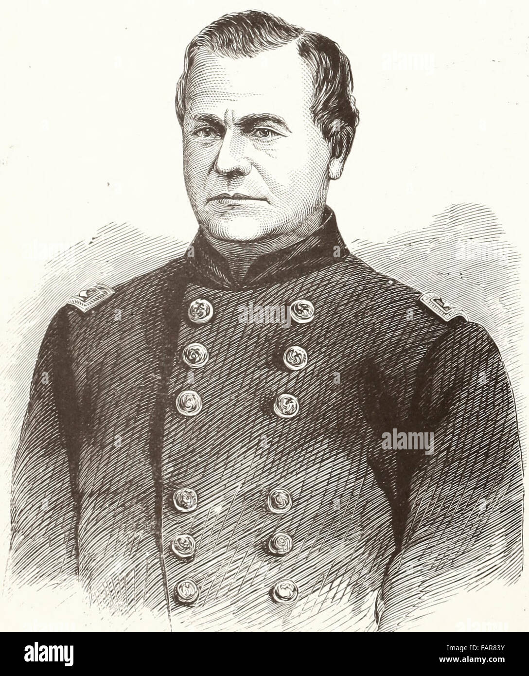 General Richard James Oglesby (July 25, 1824 – April 24, 1899) was an American soldier and Republican politician - Stock Image