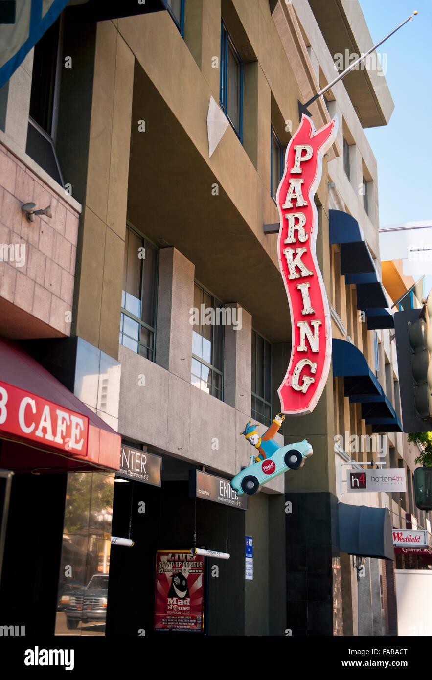 Downtown Parking Garage Stock Photos Amp Downtown Parking