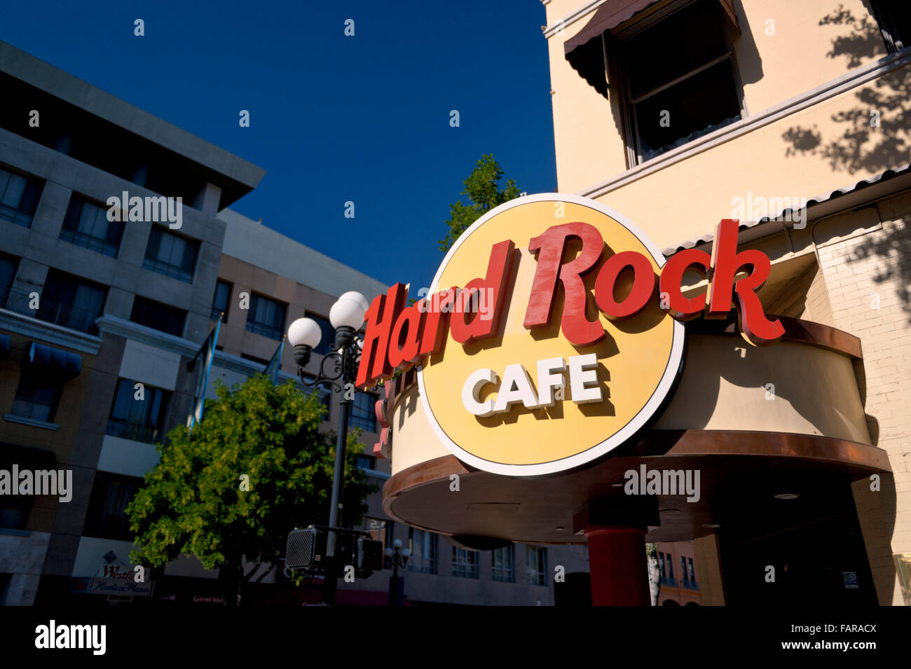 Hard Rock Cafe And Restaurant In Downtown San Diego California