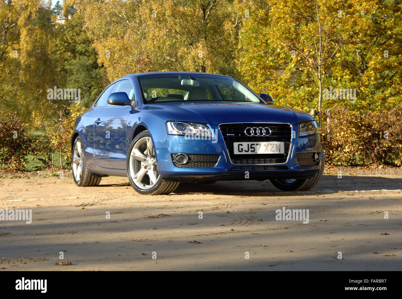 2007 Audi A5 luxury coupe - Stock Image