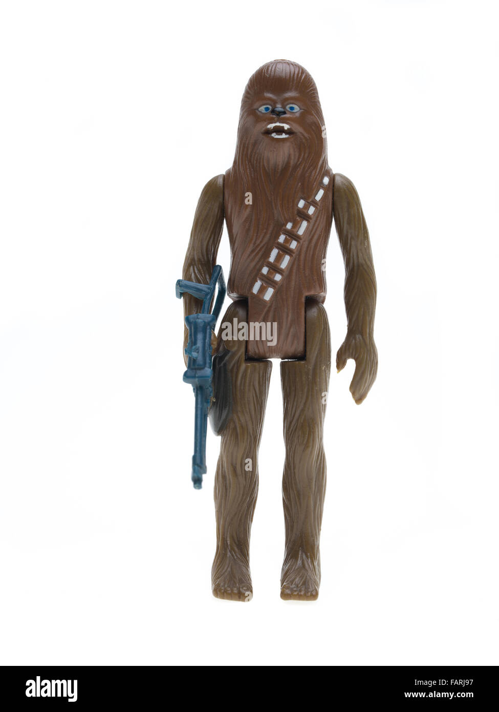Star Wars action figure by Kenner 1977  Chewbacca, - Stock Image