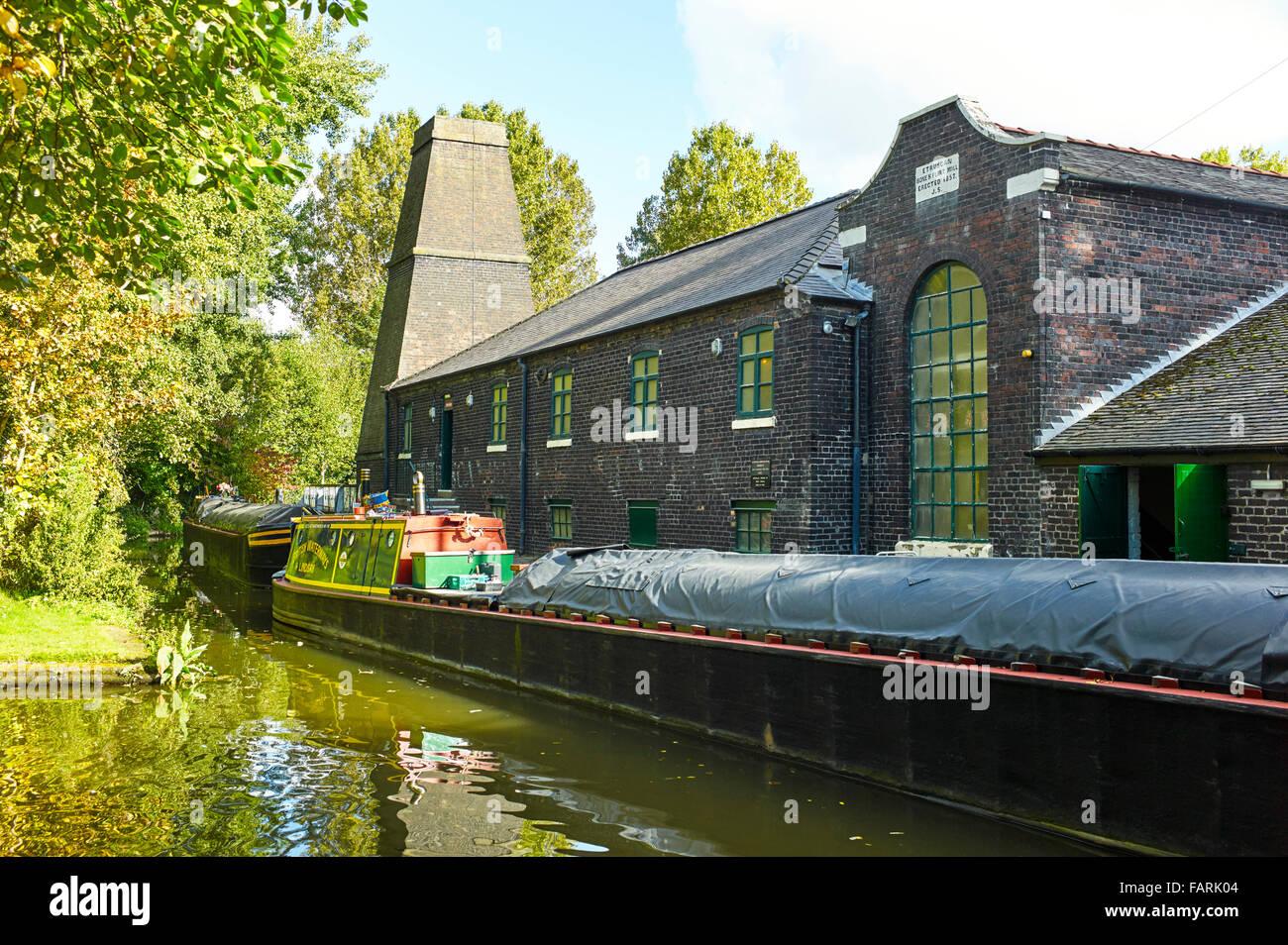 Flint mill at Stoke on Trent - Stock Image