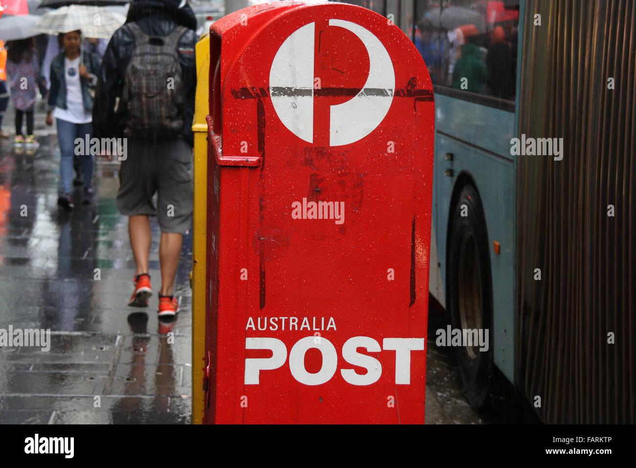 Australia Post Boxes Stock Photos & Australia Post Boxes