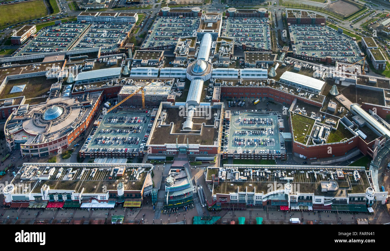 aerial view shopping mall centro oberhausen shopping mall largest stock photo 92719873 alamy. Black Bedroom Furniture Sets. Home Design Ideas