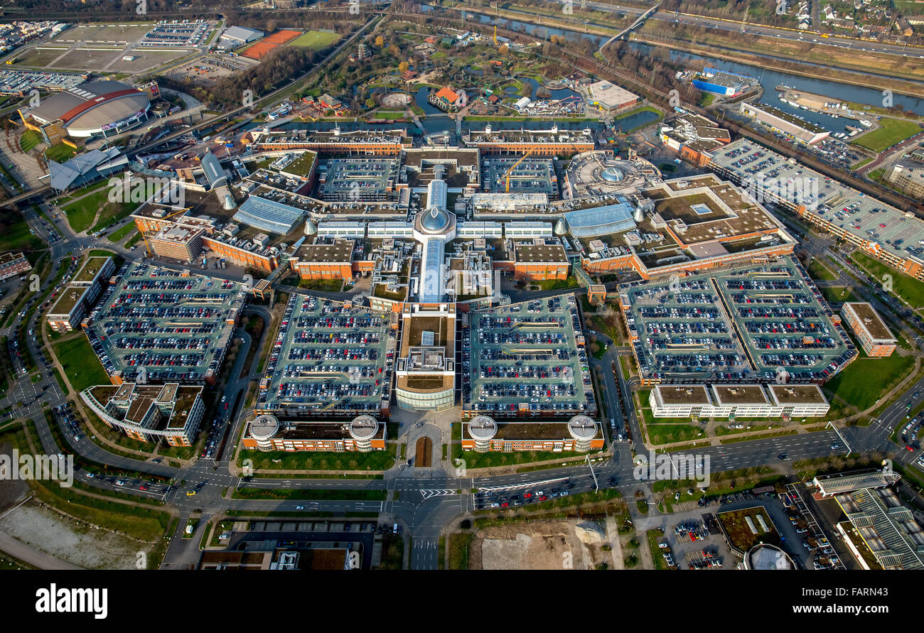 aerial view shopping mall centro oberhausen shopping mall largest stock photo 92719875 alamy. Black Bedroom Furniture Sets. Home Design Ideas