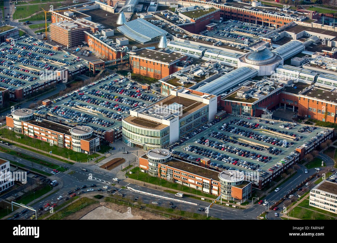 aerial view shopping mall centro oberhausen shopping mall largest stock photo 92719887 alamy. Black Bedroom Furniture Sets. Home Design Ideas