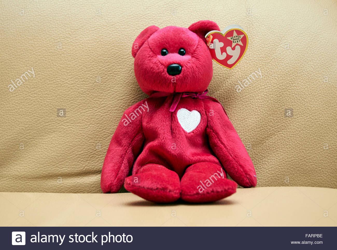 Original Ty Beanie Baby soft toy Stock Photo
