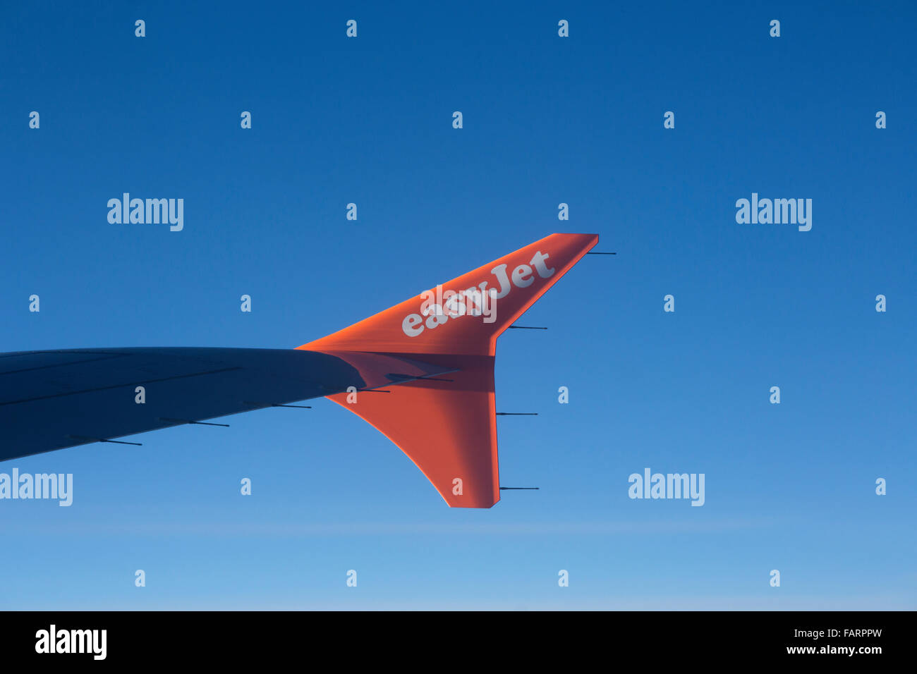 easyJet low-cost airline - Stock Image