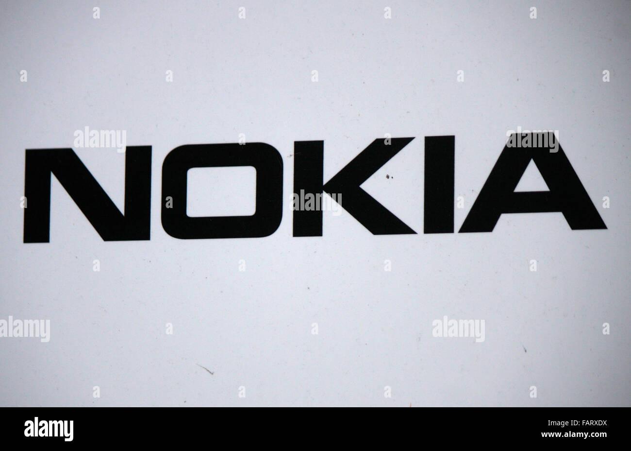 Markenname: 'Nokia', Berlin. - Stock Image