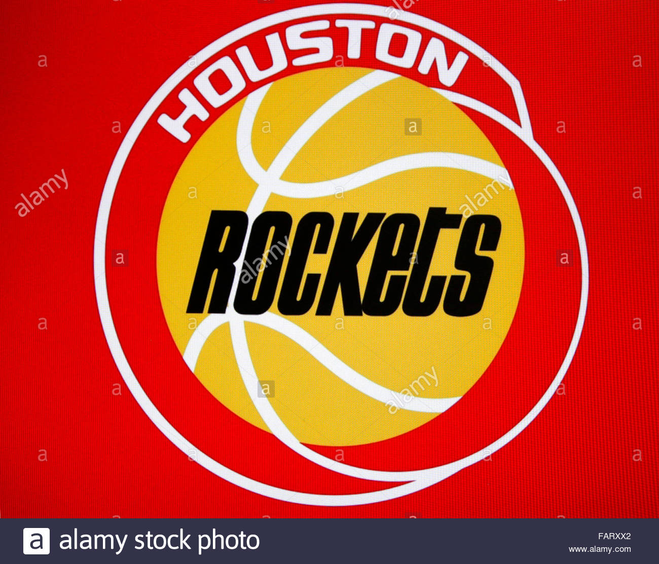 Markenname: 'Houston Rockets', Berlin. - Stock Image