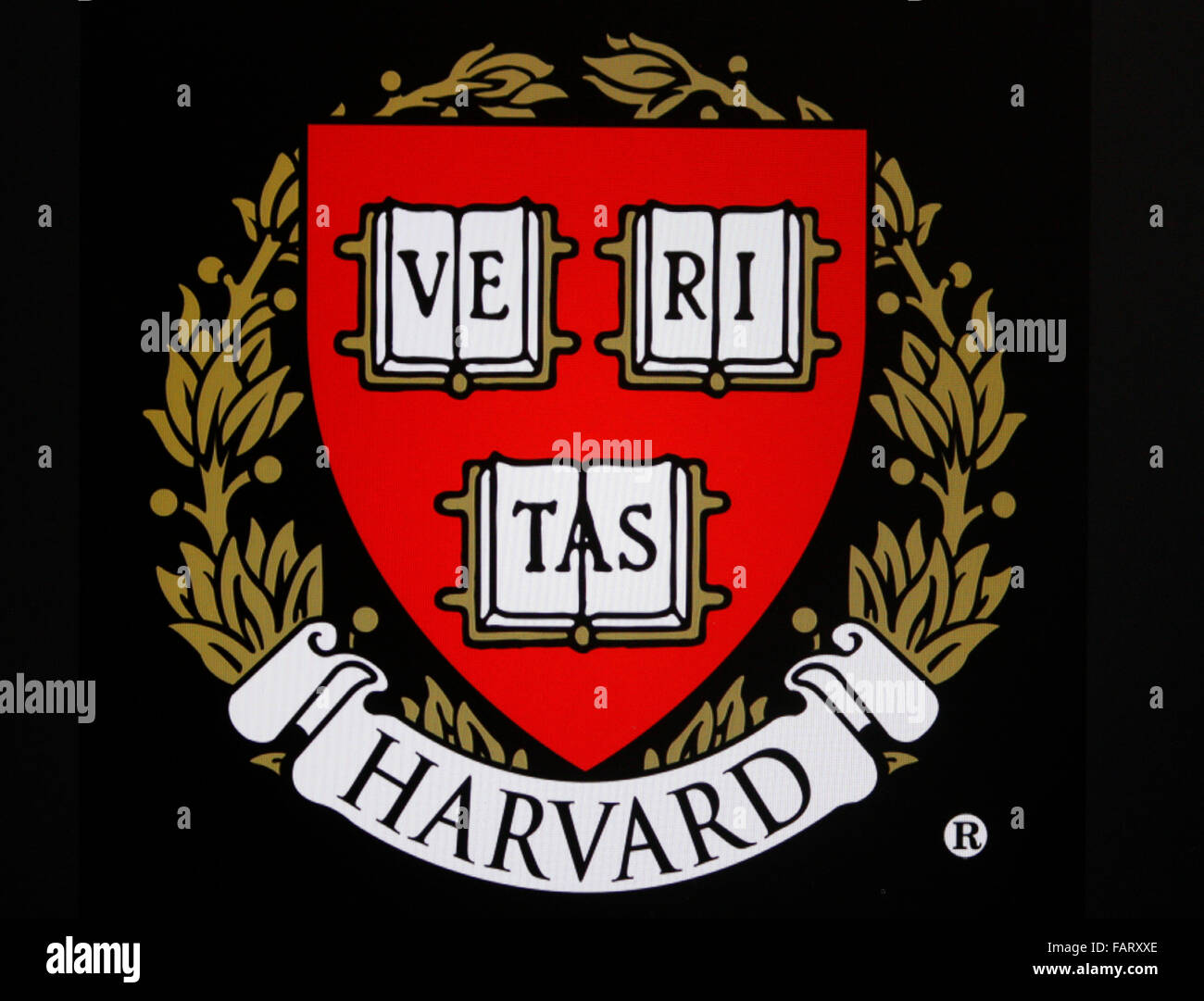 Markenname: 'Harvard University', Berlin. - Stock Image