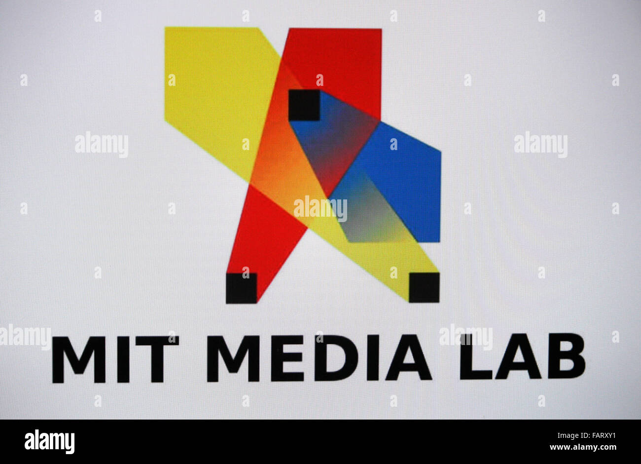 Markenname: 'MIT Massachussetts Institute of Technology Media Lab', Berlin. - Stock Image