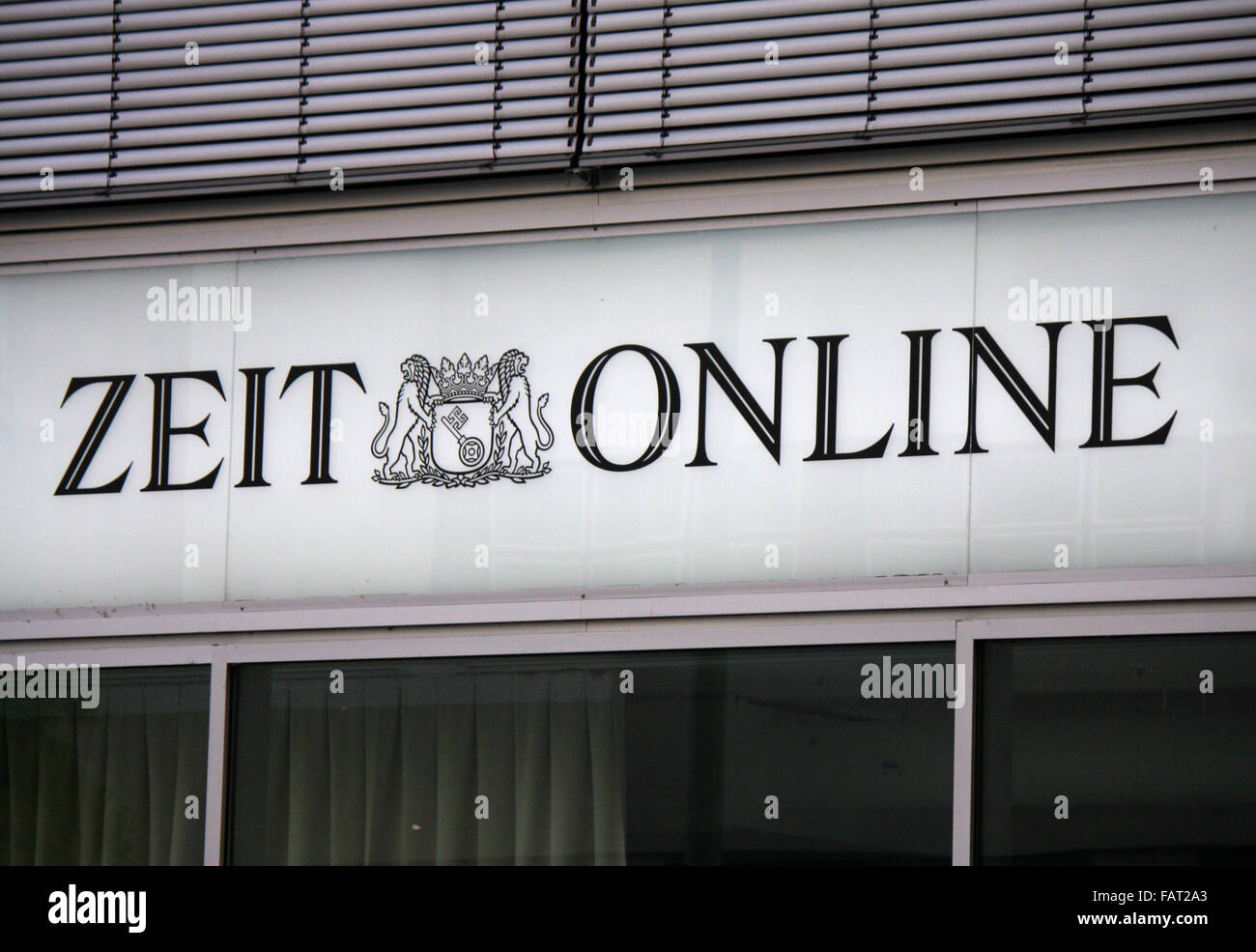 Markenname: 'Zeit online', Berlin. - Stock Image