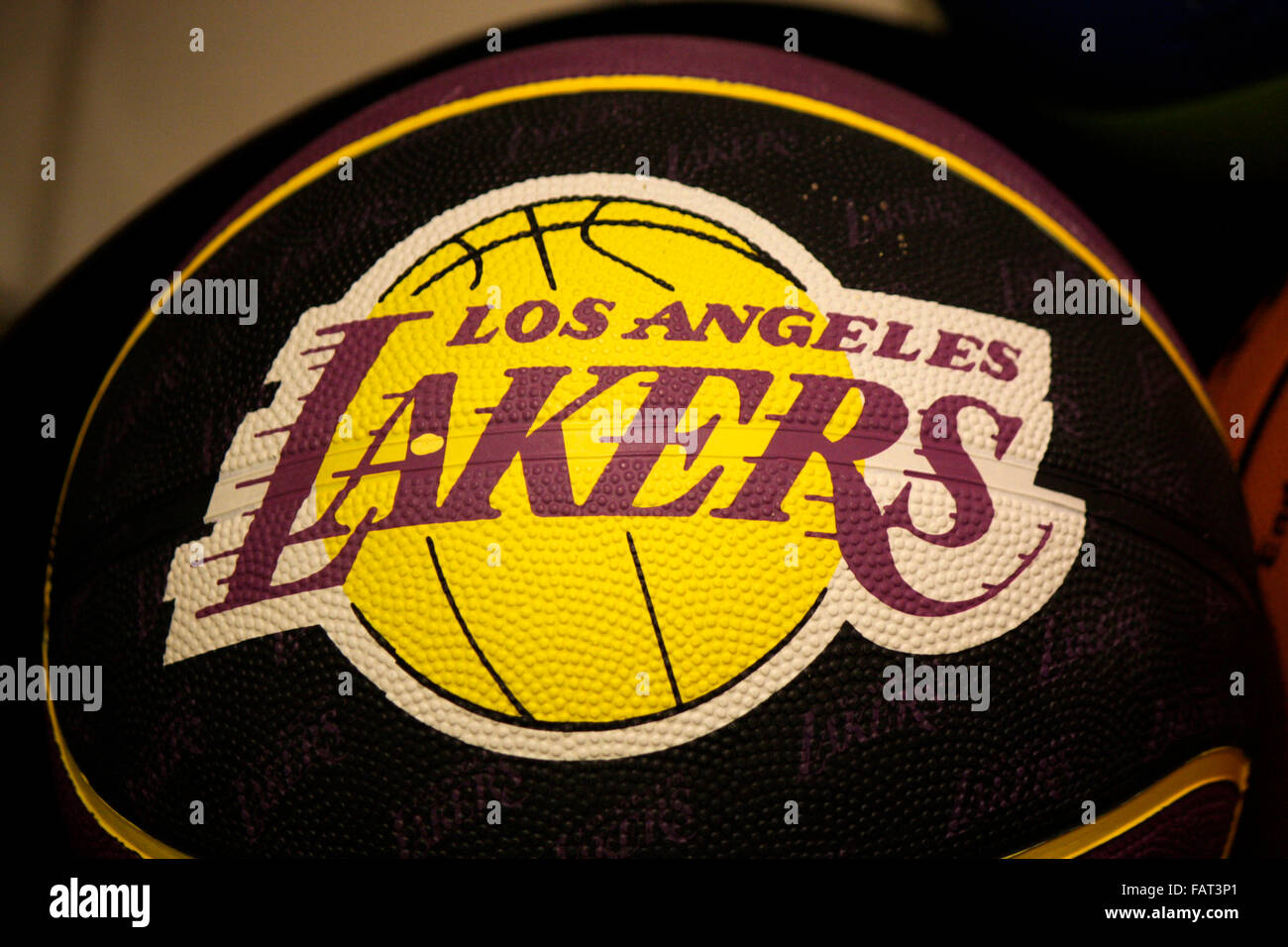 Lakers Logo High Resolution Stock Photography And Images Alamy