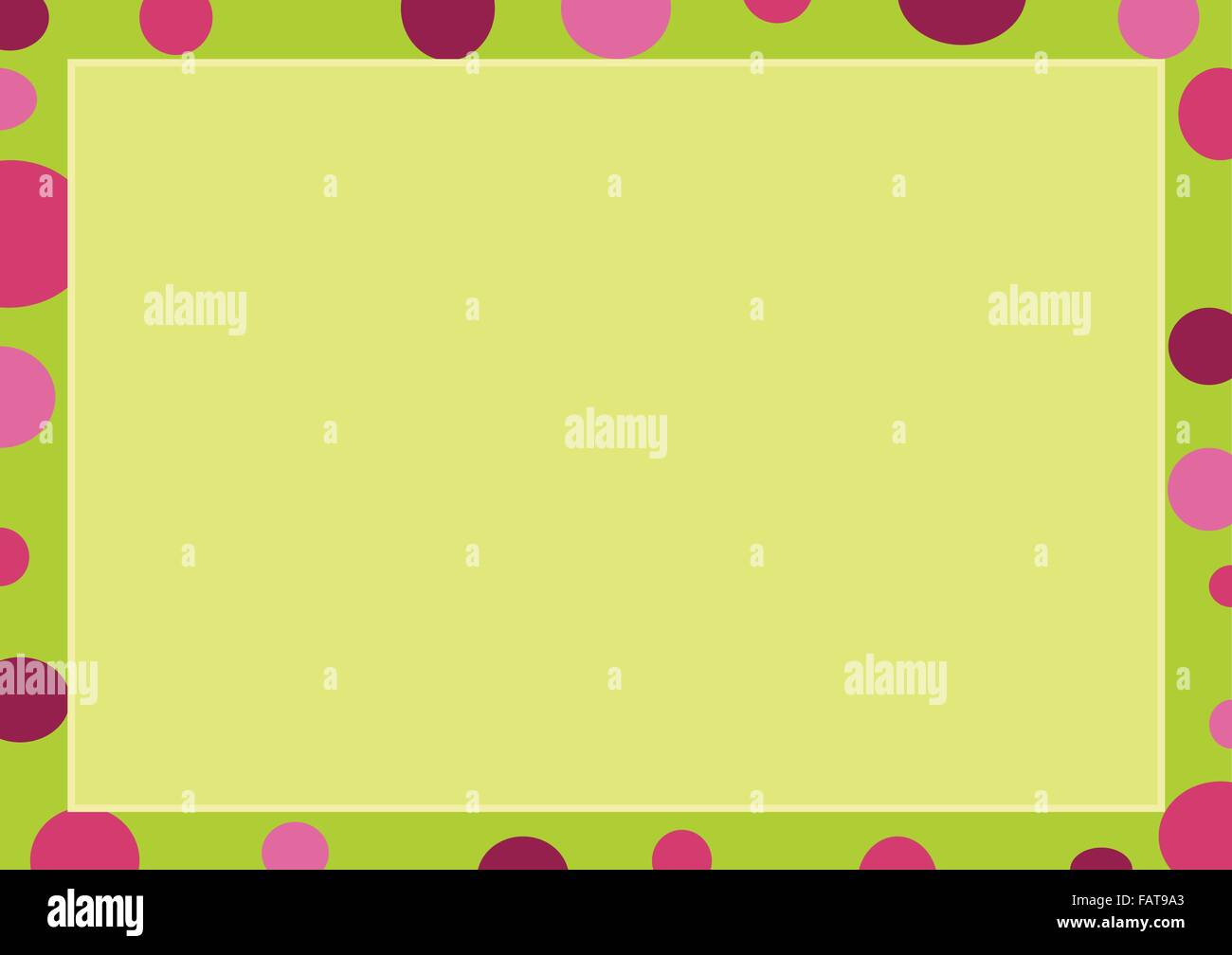 Abstract Luxury Light Green Background With A Lemon Green