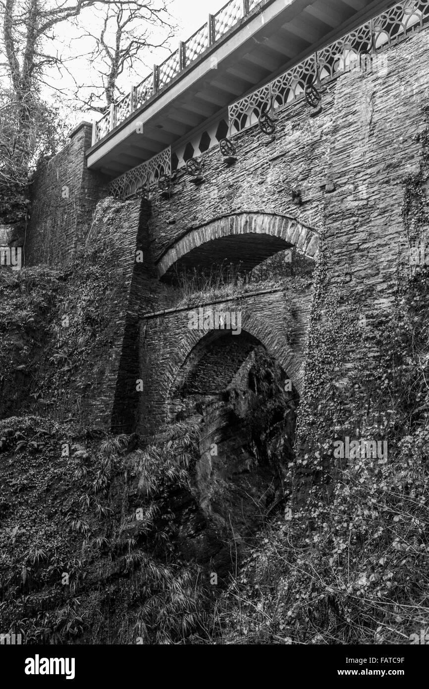 Devils bridge Wales UK - Stock Image