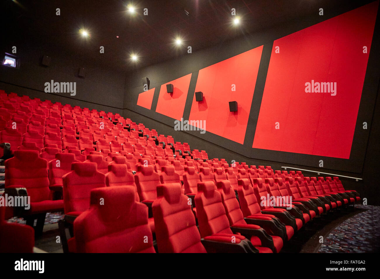 Cineworld open their latest cinema in Stoke on Trent with a VIP evening. manager Paul Foster Lord Mayor Jean Bower - Stock Image