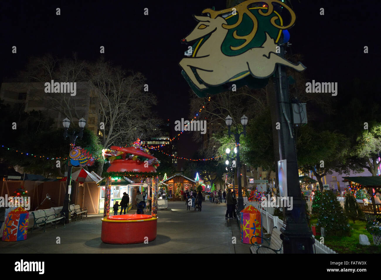 Christmas In The Park San Jose.Christmas In The Park San Jose Ca Stock Photo 92744958 Alamy