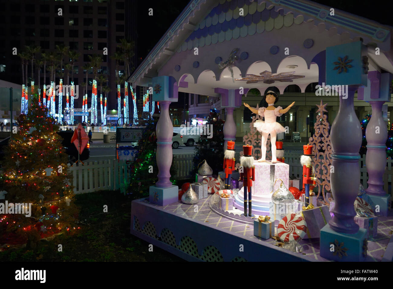 Christmas In The Park San Jose.Christmas In The Park San Jose Ca Stock Photo 92744960 Alamy