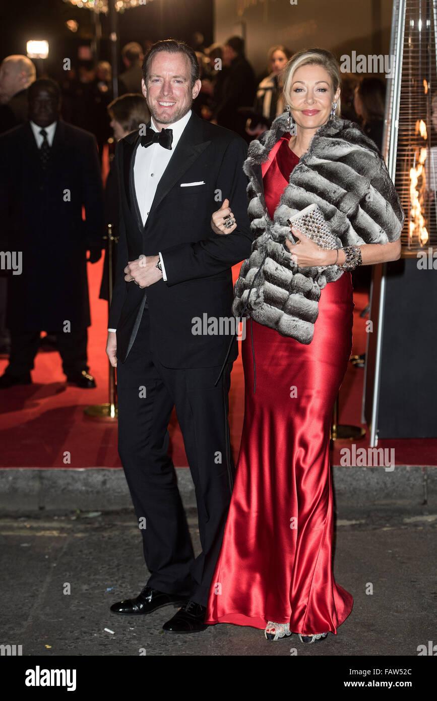1ae2fa2aa British Fashion Awards held at the Coliseum - outside arrivals. Featuring:  Nadja Swarovski, Rupert Adams Where: London, United Kingdom When: 23 Nov  2015