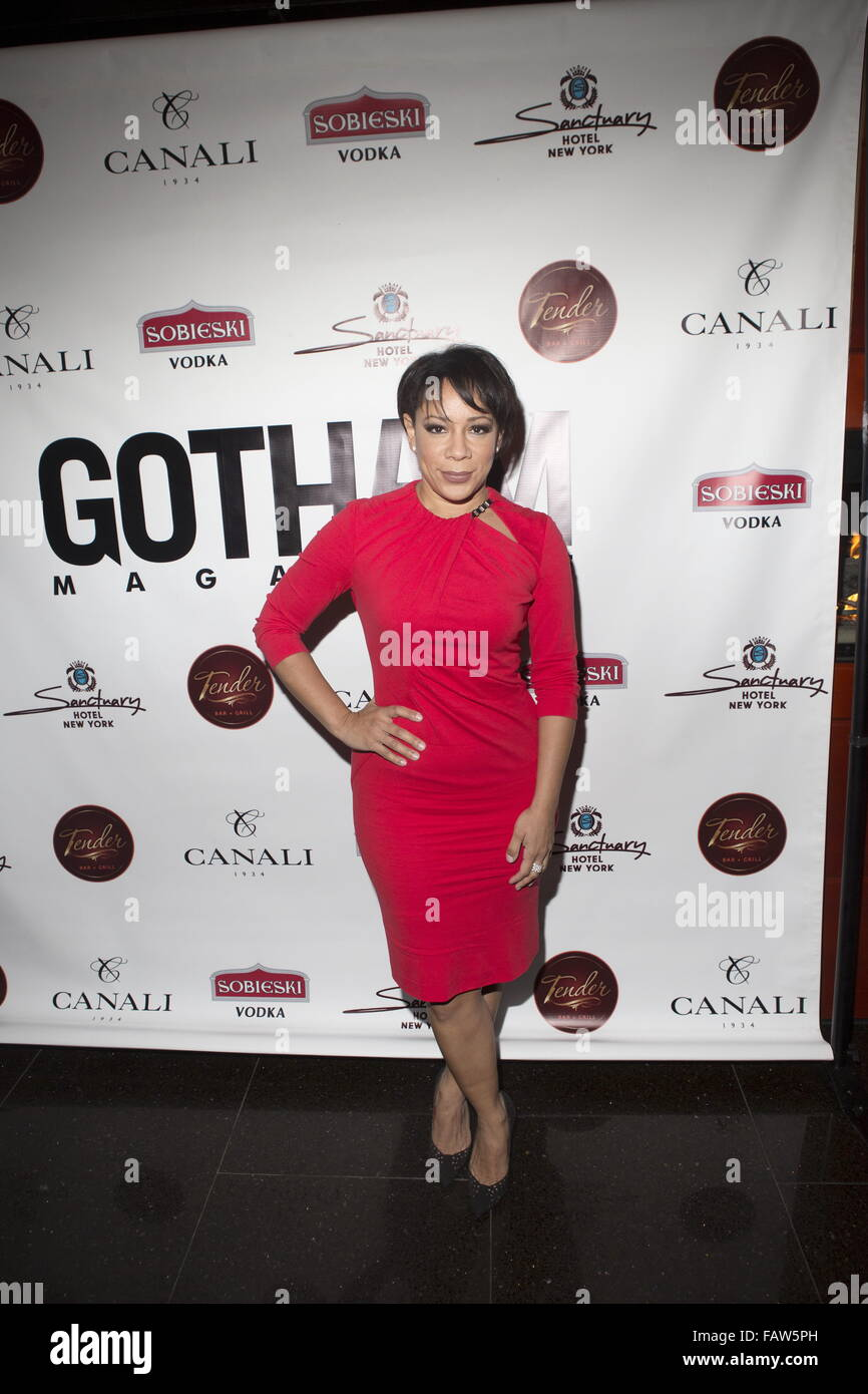 Gotham Magazine Celebrates The Most Influential Men In NYC At The Annual Men's Event At Tender Bar & Grill At - Stock Image